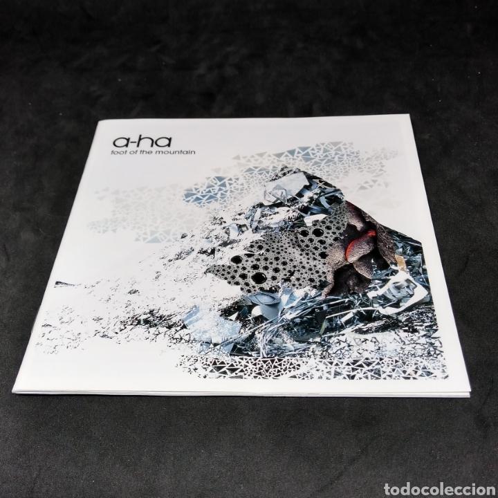 CDs de Música: A-HA - FOOT OF THE MOUNTAIN - 2009 - CD - AHA - A HA - Foto 4 - 254402315