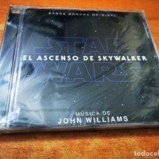 CDs de Música: STAR WARS EL ASCENSO DE SKYWALKER BANDA SONORA JOHN WILLIAMS CD ALBUM PRECINTADO DEL AÑO 2019 RARO. Lote 254414555