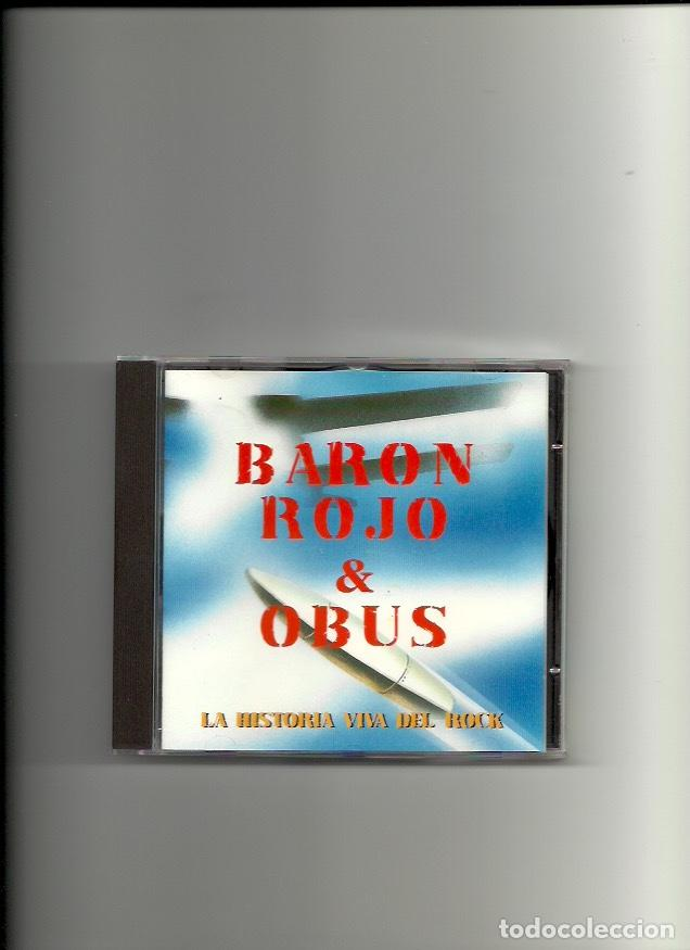 BARON ROJO + OBUS. LA HISTORIA VIVA DEL ROCK. (CD ALBUM 1996 (Música - CD's Rock)