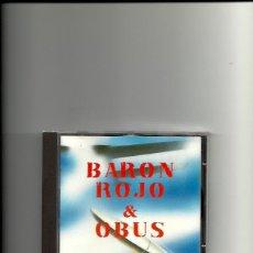 CDs de Música: BARON ROJO + OBUS. LA HISTORIA VIVA DEL ROCK. (CD ALBUM 1996. Lote 254427545