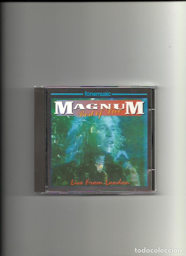 MAGNUM. BEST OF LIVE. LIVE FROM LONDON (CD ALBUM 1993) (Música - CD's Rock)