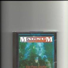 CDs de Música: MAGNUM. BEST OF LIVE. LIVE FROM LONDON (CD ALBUM 1993). Lote 254432670