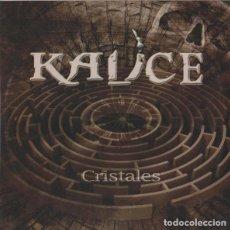 CDs de Música: KAUCE - CRISTALES (SOBER; SARATOGA; METALLICA). Lote 254436055
