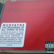 CDs de Música: MUDVAYNE – THE BEGINNING OF ALL THINGS TO END EDICIÓN USA AÑO 2001. Lote 254438620