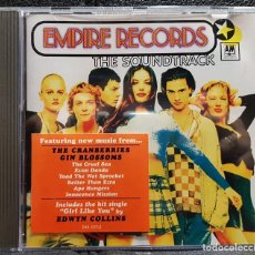 CDs de Música: EMPIRE RECORDS - CD - BSO - ALEMANIA - THE CRANBERRIES - LIV TYLER - NO USO CORREOS. Lote 254440450
