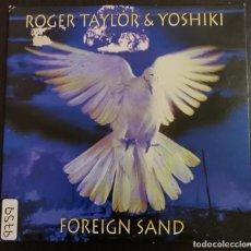 CDs de Música: ROGER TAYLOR & YOSHIKI – FOREIGN SAND. Lote 254443455