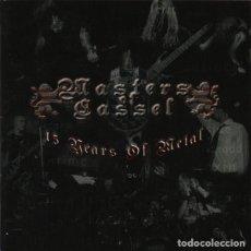 CDs de Música: VARIOS ARTISTAS - MASTERS OF CASSEL 15 YEARS OF METAL (BLACK; DEATH; HEAVY METAL). Lote 254443535