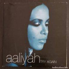 CDs de Música: AALIYAH - TRY AGAIN. Lote 254444220