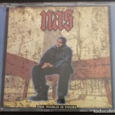 CDs de Música: NAS - THE WORLD IS YOURS. Lote 254444590