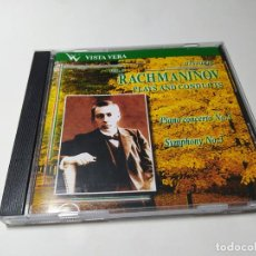 CDs de Música: CD - MUSICA - SERGEI VASILYEVICH RACHMANINOFF ‎– PLAYS AND CONDUCTS VOL.5 ( RUSIA) VVCD-00028. Lote 254446490