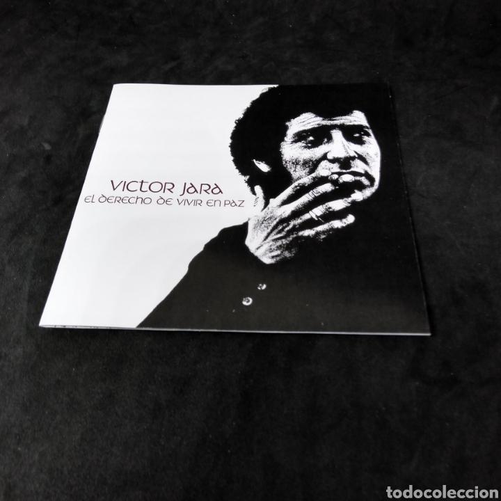 CDs de Música: VICTOR JARA - EL DERECHO DE VIVIR EN PAZ - 2001 - 2003 - CD - Foto 4 - 254454940