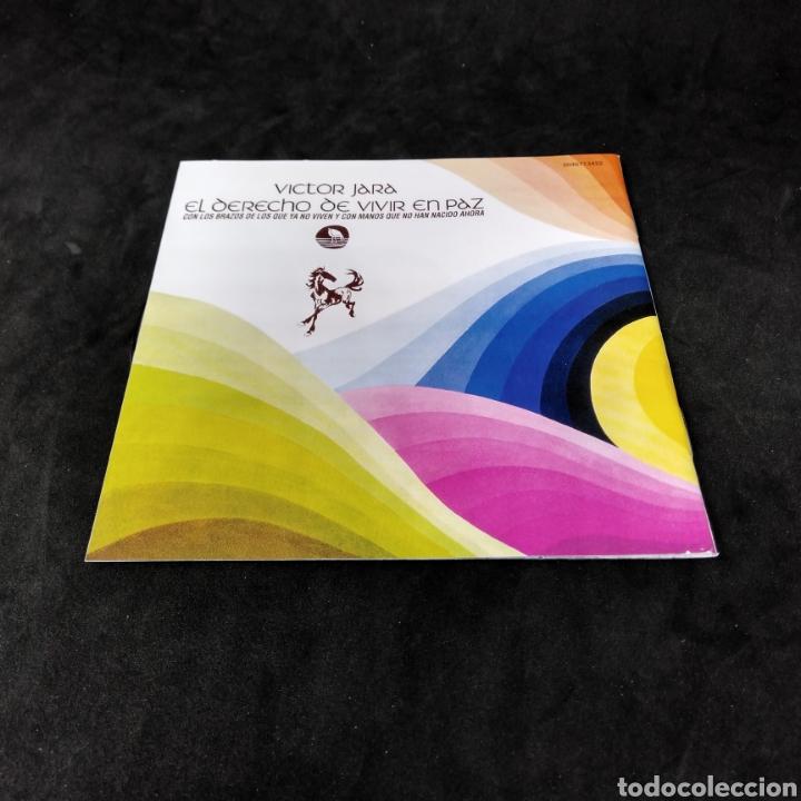 CDs de Música: VICTOR JARA - EL DERECHO DE VIVIR EN PAZ - 2001 - 2003 - CD - Foto 5 - 254454940