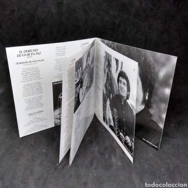 CDs de Música: VICTOR JARA - EL DERECHO DE VIVIR EN PAZ - 2001 - 2003 - CD - Foto 6 - 254454940