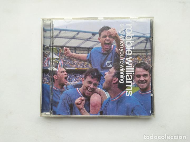 ROBBIE WILLIAMS - SING WHEN YOU'RE WINNING - CD. TDKCD38 (Música - CD's Pop)