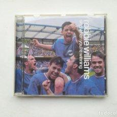CDs de Música: ROBBIE WILLIAMS - SING WHEN YOU'RE WINNING - CD. TDKCD38. Lote 254455140