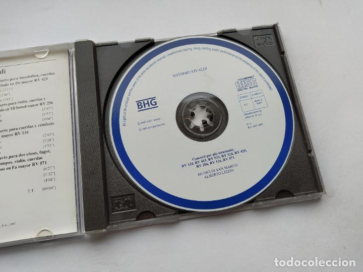 CDs de Música: VIVALDI. CONCIERTO PARA DIVERSOS INSTRUMENTOS. ORBIS FABBRI DDD. CD. TDKCD38 - Foto 2 - 254455225