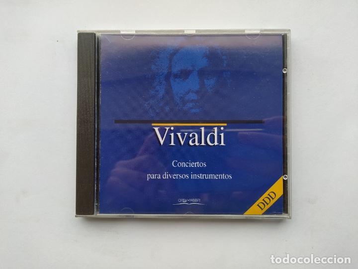 VIVALDI. CONCIERTO PARA DIVERSOS INSTRUMENTOS. ORBIS FABBRI DDD. CD. TDKCD38 (Música - CD's Clásica, Ópera, Zarzuela y Marchas)