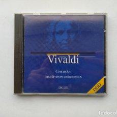 CDs de Música: VIVALDI. CONCIERTO PARA DIVERSOS INSTRUMENTOS. ORBIS FABBRI DDD. CD. TDKCD38. Lote 254455225