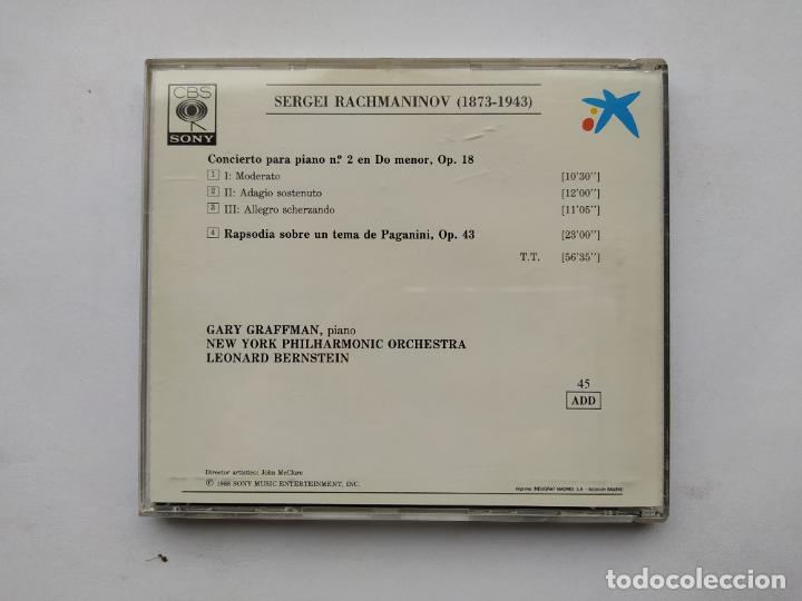 CDs de Música: AUDITORIUM. RACHMANINOV. CONCIERTO PARA PIANO Nº 2. CD. TDKCD38 - Foto 3 - 254455310
