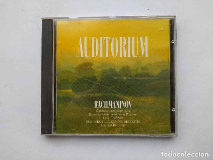 AUDITORIUM. RACHMANINOV. CONCIERTO PARA PIANO Nº 2. CD. TDKCD38 (Música - CD's Clásica, Ópera, Zarzuela y Marchas)