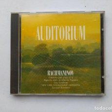 CDs de Música: AUDITORIUM. RACHMANINOV. CONCIERTO PARA PIANO Nº 2. CD. TDKCD38. Lote 254455310