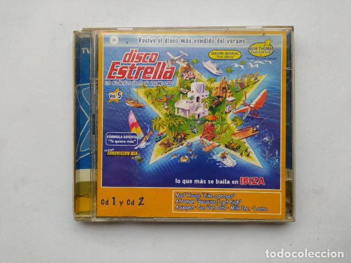 DISCO ESTRELLA. VOL. VOLUMEN 5. CD 1 Y CD 2. TDKCD38 (Música - CD's Disco y Dance)