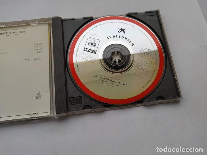 CDs de Música: AUDITORIUM SCHUBERT. QUINTETO PARA CUERDA. YO YO MA CLEVELAND QUARTET. CD. TDKCD38 - Foto 2 - 254455910