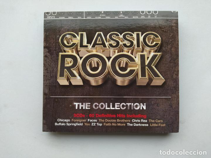 CLASSIC ROCK COLLECTION 3 CD'S. 60 DEFINITIVE HITS INCLUDING. TDKCD38 (Música - CD's Rock)