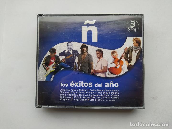 Ñ. LOS EXITOS DEL AÑO. 3 CD'S. VARIOS ARTISTAS. TDKCD38 (Música - CD's Pop)