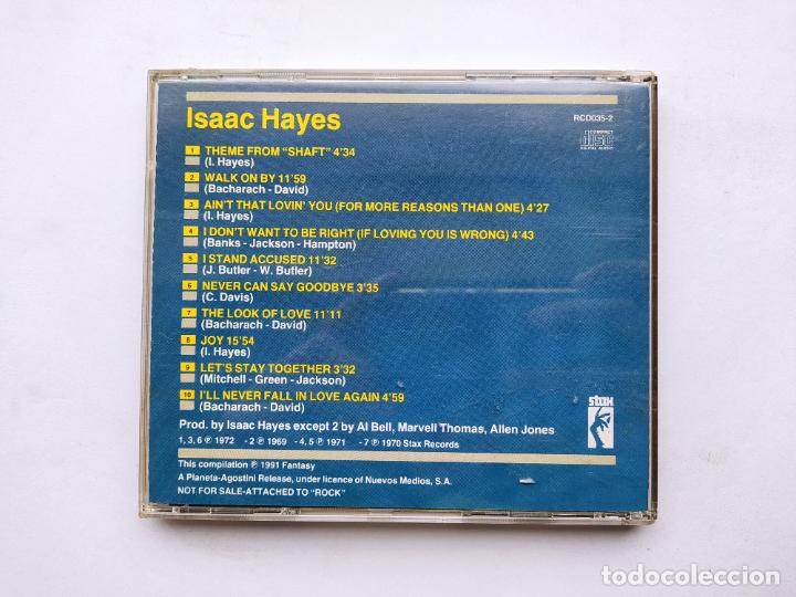 CDs de Música: Isaac Hayes - The Very Best Of. CD. TDKCD38 - Foto 3 - 254456425