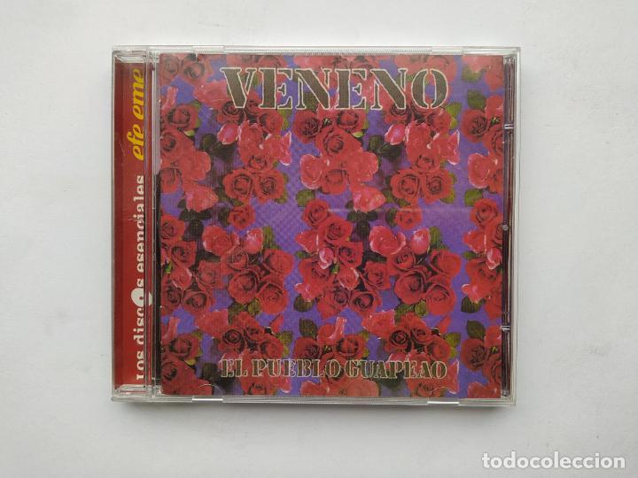 VENENO - EL PUEBLO GUAPEAO CD. TDKCD38 (Música - CD's Flamenco, Canción española y Cuplé)