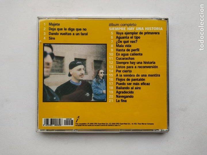 CDs de Música: ROSENDO - SIEMPRE HAY UNA HISTORIA... EN DIRECTO - CD. TDKCD38 - Foto 3 - 254456625