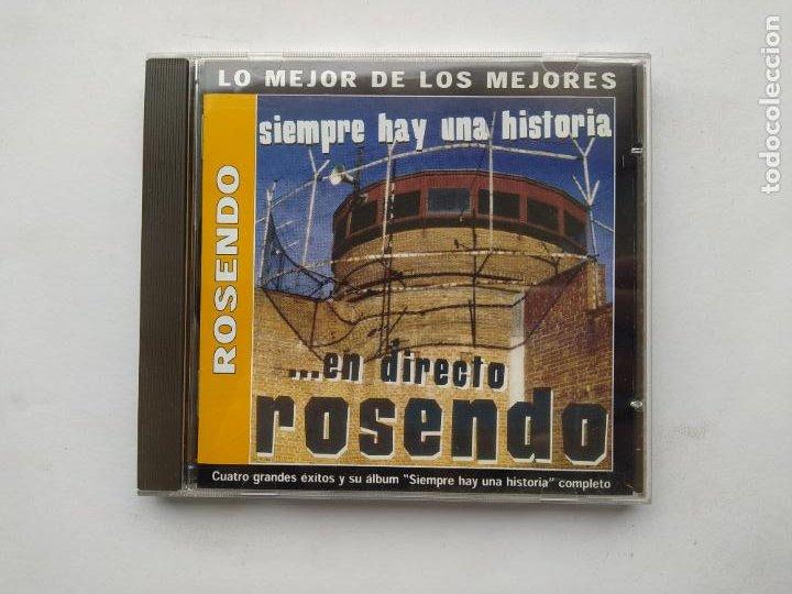 ROSENDO - SIEMPRE HAY UNA HISTORIA... EN DIRECTO - CD. TDKCD38 (Música - CD's Rock)