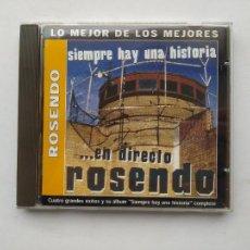 CDs de Música: ROSENDO - SIEMPRE HAY UNA HISTORIA... EN DIRECTO - CD. TDKCD38. Lote 254456625
