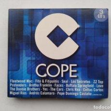 CDs de Música: CADENA COPE. 3 CD'S. VARIOS ARTISTAS. TDKCD38. Lote 254456785