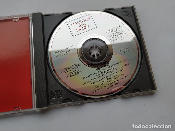 CDs de Música: MAESTROS DE LA MUSICA. BOCCHERINI. CONCIERTO PARA VIOLONCELO EN SI BEMOL MAYOR. PLANETA. TDKCD38 - Foto 2 - 254456905
