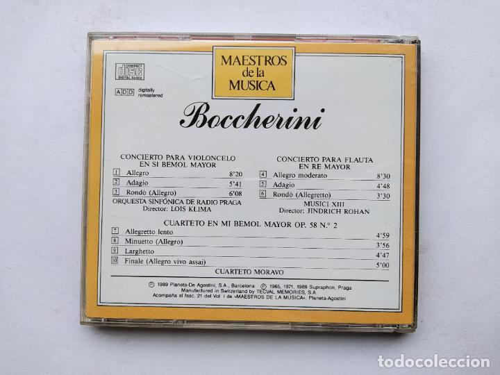 CDs de Música: MAESTROS DE LA MUSICA. BOCCHERINI. CONCIERTO PARA VIOLONCELO EN SI BEMOL MAYOR. PLANETA. TDKCD38 - Foto 3 - 254456905