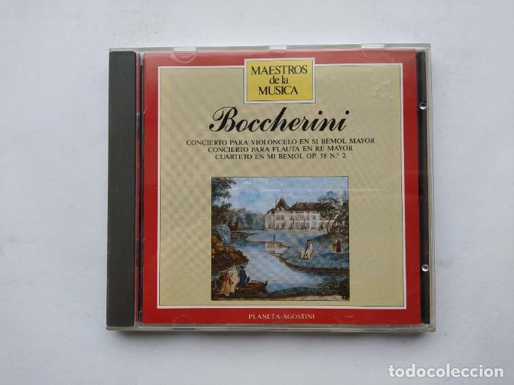 MAESTROS DE LA MUSICA. BOCCHERINI. CONCIERTO PARA VIOLONCELO EN SI BEMOL MAYOR. PLANETA. TDKCD38 (Música - CD's Clásica, Ópera, Zarzuela y Marchas)