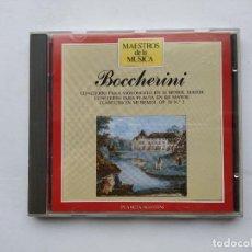 CDs de Música: MAESTROS DE LA MUSICA. BOCCHERINI. CONCIERTO PARA VIOLONCELO EN SI BEMOL MAYOR. PLANETA. TDKCD38. Lote 254456905