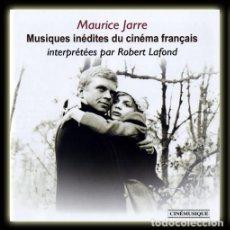 CDs de Música: MUSIQUES INÉDITES DU CINÉMA FRANÇAIS / MAURICE JARRE, ROBERT LAFOND CD BSO. Lote 254462560
