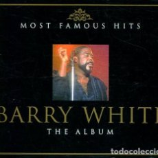 CDs de Música: BARRY WHITE (MOST FAMOUS HITS) CAJA CONN2 CDS. Lote 254495590
