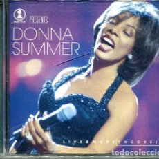 CDs de Música: DONNA SUMMER / LIVE & MORE EN CORE ! (CD S0NNY 1999). Lote 254497925