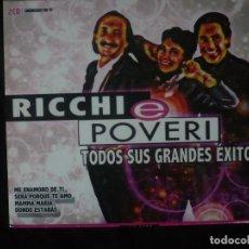 CD de Música: RICCHI E POVERI - TODOS SUS GRANDES EXITOS - 2 CD'S - CD NUEVO PRECINTADO. Lote 254506255