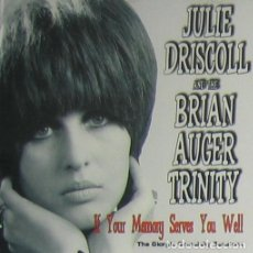 "CDs de Música: JULIE DRISCOLL AND THE BRIAN AUGER TRINITY: ""IF YOUR MEMORY SERVES YOU WELL"" CD BLUES-SOUL-PROG. Lote 254509480"