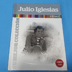 CDs de Música: LIBRO + CD JULIO IGLESIAS - A MÉXICO - SU MEJOR COLECCIÓN. Lote 254509900
