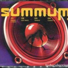 CDs de Música: SUMMUM (CAJA CON 4 CDS MUXIC 2001). Lote 254516400
