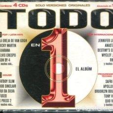 CDs de Música: TODO 1 (VARIOS) CAJA CON 4 CDS EPIC 2001). Lote 254517780