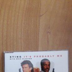 CDs de Música: BSO ARMA LEGAL 3. STING. ERIC CLAPTON. Lote 254541315