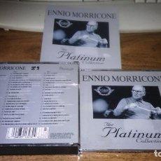 CDs de Música: ENNIO MORRICONE - THE PLATINUM COLLECTION (3CDS 2007). Lote 254546820