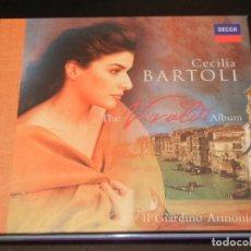 CDs de Música: CECILIA BARTOLI - IL GIARDINO ARMONICO (THE VIVALDI ALBUM) - DECCA 1999. Lote 254550590